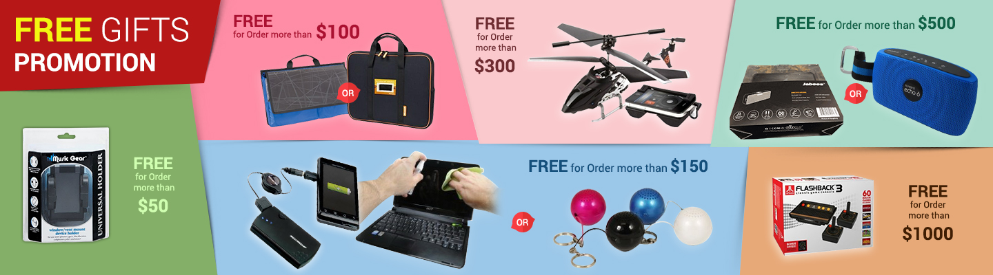 FREE Gifts Promotion 2017