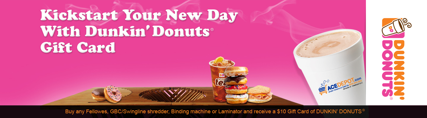 Kickstart your new year with Dunkin Donuts Gift Card