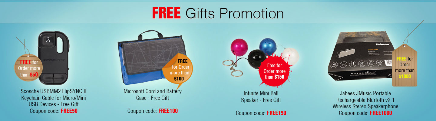 Free Gifts Promotion 2013