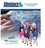 Acroprint Attendance Rx Network Software  - 50 Emp