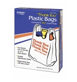 Garvey 063036 Plastic Thank You Bags