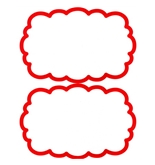 Garvey Paper Signs 090381 Quick Print On Clouds - Red