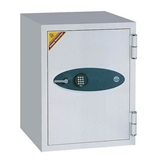 1.75 Cubic Ft Capacity Fireproof Safe with Digital Lock Off White