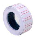 10 Rolls 6000 Pieces of Label Paper for Mx-5500 Price Gun Labeller