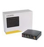 1080p HD Component Video + Coaxial/Optical Toslink Digital Audio to HDMI Converter (100~240V AC)
