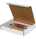 11 1/8- x 8 3/4- x 4- DVD Literature Mailer Kit (50 Each Per Bundle)