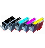 20 Pack (4BK/4BK/4C/4M/4Y) BCI-6 BCI-3e non-OEM Printer Ink Cartridges for Canon Pixma i860 iP4000 iP5