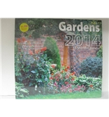2014 Gardens Calendar (12x12) Wall Calendar with 240 Reminder Stickers