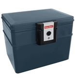 First Alert 2037F Fire and Water File Chest, 0.62 Cubic Foot