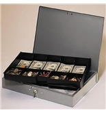 MMF 10-Compartment Low Profile Cash Box