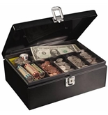 MMF Anti-Theft Security Cable Cash Box
