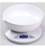 WeighMax 2810-5kg-White Electronic Kitchen Scale