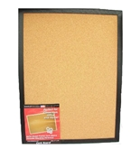 Dooley Boards Black Framed Cork Board, 17 x 23 Inch, Black (1824COBL)