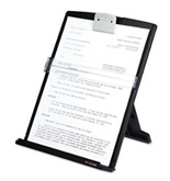 3 Pack Fold-Flat Freestanding Desktop Copyholder, Plastic, 150 Sheet Capacity, Black by 3M (Catalog Category: Paper, Pens & Desk Supplies / Copyholders)