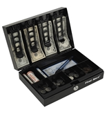 First Alert 3026F Cash Box with Money Tray