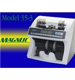 Magner Model 35-3 Currency Counter with Counterfeit detection NEW