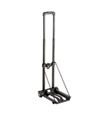 Safco Products 4058NC Plastic Luggage Cart, 150 lb. Capacity, Black