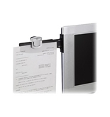 3M Monitor Mount Document Clip, 6-1/4-X3-, Black/Silver