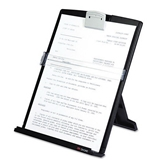 3M Products - 3M - Fold-Flat Freestanding Desktop Copyholder, Plastic, 150 Sheet Capacity, Black - Sold As 1 Each