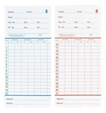 PTI 41473-10M Time Cards, 1000 Pack