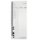 PTI 44100-10M Time Cards 1000 Pack