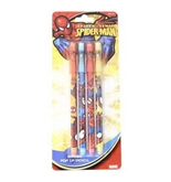 4pk Spiderman Pop Up Pencils