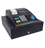 Royal 210DX B1 Electronic Cash Register 2LCD 1500 plus 24 Dpts 10 ID Black