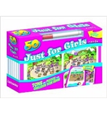 50 Cards Just for Girls [Mass Market Paperback] [Oct 03, 2011] Kidsbooks