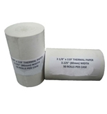 50 Thermal Receipt Paper Rolls, 3-1/8 Inch x 119 Feet
