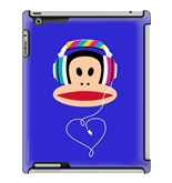 Paul Frank Cool Beats Julius Deflector Hard Case for iPad 2/3/4, Multicolored