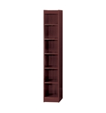 72- H Veneer Baby Bookcase Finish: Mahogany