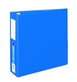 Avery Heavy-Duty Binder with 3-Inch One Touch EZD Ring, Blue, 1 Binder (21016)