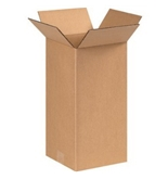 "8"" x 8"" x 16"" Tall Corrugated Boxes (Bundle of 25)"