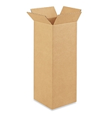 "8"" x 8"" x 24"" Tall Corrugated Boxes (Bundle of 25)"