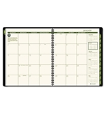 At-A-Glance Green Professional Monthly Planner, Black - 2015-16