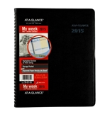 AT-A-GLANCE Weekly And Monthly Appointment Book 2015, QuickNotes, Black