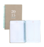 AT-A-GLANCE Collection Weekly/Monthly Planner, 8 3/8 X 11,Neutral/Teal