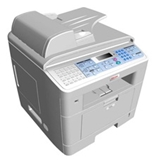 Ricoh AC205 Multifunction - Copy, print, scan, fax features