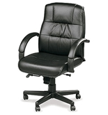 ACE MID 758 LEATHER EXECUTIVE CHAIR