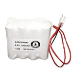 Acroprint 58-0108-000 Optional Back-Up Battery for Model ES900 Electronic Payroll Time Recorder