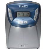 Acroprint T100 Timex Digital Time Clock - Card Punch/Stamp