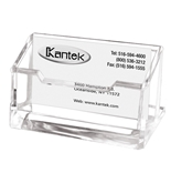 Kantek AD-30 Acrylic Business Card Holder - Clear