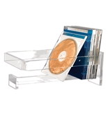 Kantek AD-55 Acrylic CD Rack - Clear