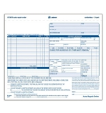 Adams Auto Repair Order Forms, 8.5 x 7.44 Inch, 3-Part, Carbonless, 50-Pack, White and Canary (GT3870)
