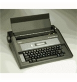 Adler-Royal ET640 Refurbished Personal Electric Typewriter with Display and Memory
