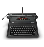 Adler Royal Epoch Portable Manual Typewriter