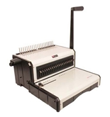 "Akiles AlphaBind-CM 12"" Manual Comb Binding Machine & Punch"