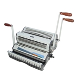 Akiles Wiremac Duo 14- Punching & Binding Machine Heavy Duty 2-in-1 (2:1 & 3:1 Wire)