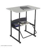 AlphaBetter Adjustable Height Computer Desk