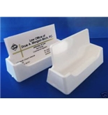 Amazon Acrylic Business Card Holder Display White USA